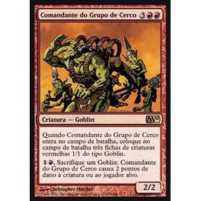 Carta De Magic The Gathering - Comandante Do Grupo De Cerco