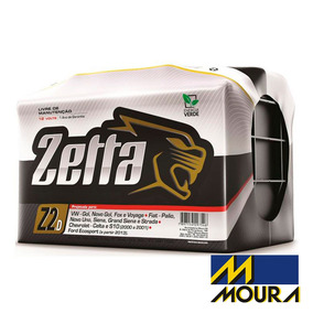 Bateria Zetta Z70d 70amperes Niterói C/nf