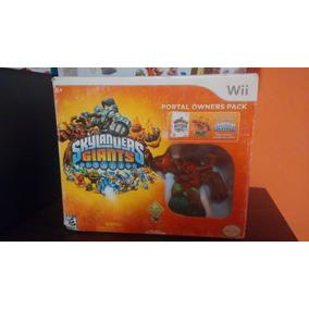 Skylanders Giants Con Una Figura Wii ¡usado!
