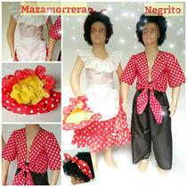Disfraz De Mazamorrera Niña Entre 4 Y 10 Años