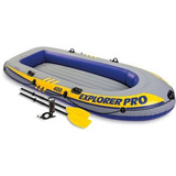 Lancha Inflable Pro 400 Explorer 2 Remos Y Bomba Manual
