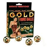 Bolas Chinas Reafirmantes Vaginales Cuatro Bolas Gold