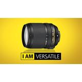 Lente Nikon Af-s Dx Nikkor 18-140mm Para Profesionales