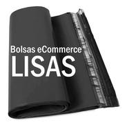 100 Sobres Bolsas Ecommerce Lisos Negro Nº2  30x40  Inviolab