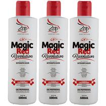 3 Zap Magic Red Revolution Gloss Intensificador 500ml