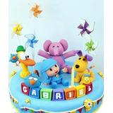 Tortas Infantiles Decoradas Pocoyo Personalizadas