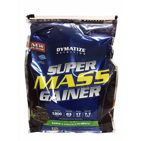 Proteina Dymatize Super Mass Gainer 12lb Pastel De Chocolate