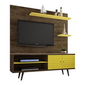 Rack C/ Painel Home P/ Tv Lcd Led Onix 1.6m Promoção