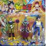 Dragon Ballz Set De 3 Personajes Articulados 14cm Perfectcel