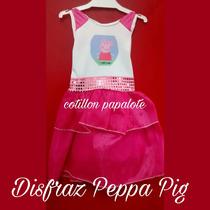 Disfraz Peppa Pig Regalo Cumple Cerdita Fiesta