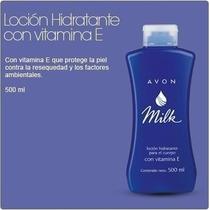 Avon Milk: Loción Con Vitamina E