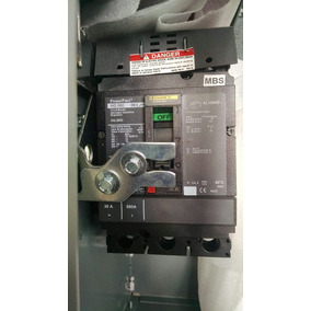 Interruptor Termomagnetico Square D Silleta Para Ccm De 6
