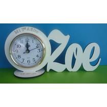 Souvenirs Reloj Con Nombre 15 Años Cumples Infantiles