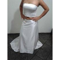 Vestido De Noiva Personalizado (modelo Exclusivo) Top E Saia