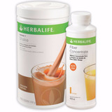 Kit Herbalife Shake 550g E Fiber Concentrate 450ml
