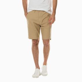 Bermuda Masculina Levis Straight Chino Short Bolso Original