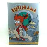 Dvd Futurama - Primeira Temporada (3 Discos)- Raro, Original