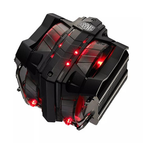 Cooler Master V8 Gts Ventilador Dual Led Red 8 Condusctos