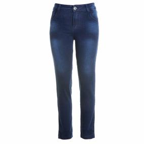 12 Calças Cigarrete Jeans Moletom Cintura Alta Manu Eruption