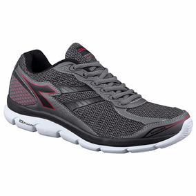 Tênis Masculino Diadora Flow Dark Graphite Red C9423 Cd 335 c437008383bcf