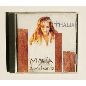 Thalia Maria La Del Barrio Cd Single Mexicano 1995