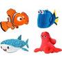 Kit 4 Pelucia Peixe Nemo Filme Procurando Dory Hank Destiny