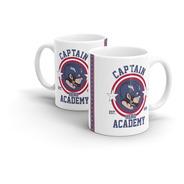 Caneca Cerâmica Captain By Cleyton Braga - Capitão America