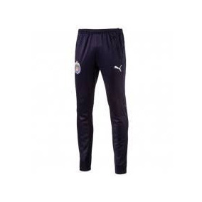 Pants Entubado Chivas Puma 100%original Training 2018 Azul