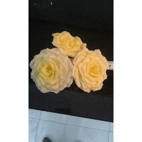 24 Rosas De Porcela Fria Pata Torta O Souvenier Mas 50 Hojas
