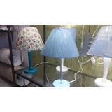 Abajur Luminária Luxo Tecido Designe Quarto Adult Ou Infant