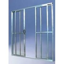 Porta Sacada 4.fls De Alum 2.10 X 2.00 Brilhante L-25