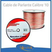 Cable Para Parlantes Hifi 10 Gauge Precio P/metro Ofc