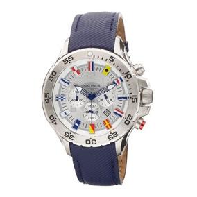 28c61f76ec23 Reloj Nautica A16561g Cronografo Amarillo - Relojes Pulsera en ...