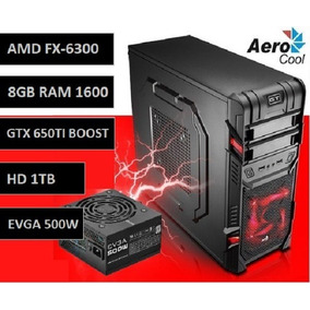 Pc Gamer Six Core | 8gb | Hd 1tb | 650ti Boost | Fonte Evga