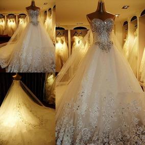 Vestido Novia Nuevo Barato Bonito Elegante Princesa Sirena93
