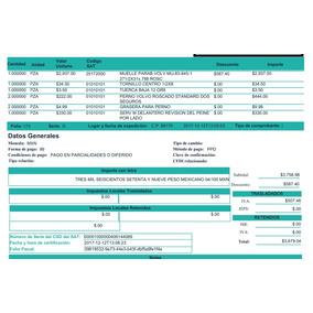 formato factura comercial contpaqi en mercado libre méxico