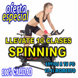 Pack 10 Clases De Spinning Videos - Indoor Cycle