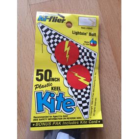 Papalote Cometa Plastic Keel Kite De Colección 1990 .