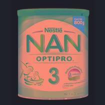 Leche Nan 3 Optipro 800g (lata)