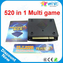 Kit 5 Cartuchos Multijogos Pandora Box 3 520 Jogos 12 X S/j