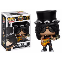 Guns N Roses Boneco Pop Vinil Da Funko Slash 10cms #51