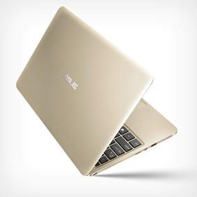 Asus Vivobook 12 Quad Core Ram 4 Gb Ssd 32, Dorado Ultrabook