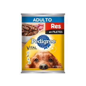 Pedigree Perro Adulto Alimento Guisado Con Carne Res 375gr
