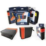 Estuche Organizador Porta Discos 48 Cd/dvd