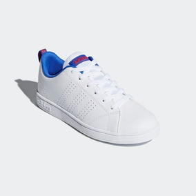 Tenis adidas Advantage Clean Niño 100%original Db0686 Blanc0