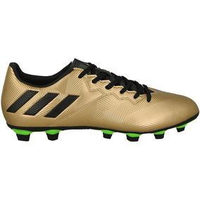Chuteira Adidas Messi - Chuteiras Adidas para Adultos Dourado escuro ... 607fd1401878b