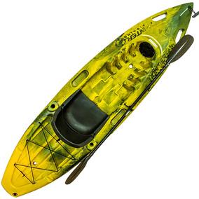 Caiaque Hunter Fishing Brudden Para Pesca Completo Com Remos