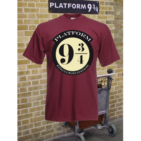 Camiseta Harry Potter, Plataforma 9 3/4.
