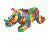 Inflable Flotador Rinoceronte Pop 2 Mts Grande Pileta Bestwa