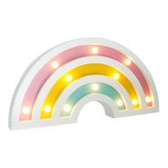 Lámpara Diseño Arcoíris Led Mdf